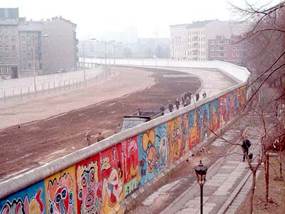 Berlin wall was an iconic symbol of the Cold War.