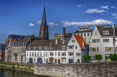 Maastricht in the Netherlands, where the Maastricht treaty was signed.