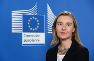 High Representative of the Union for Foreign Affairs and Security Policy / Vice President of the Eu Commission Federica Mogherini - Official photo