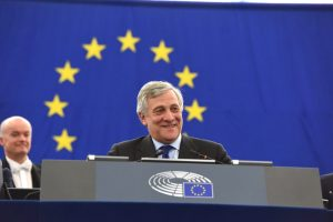 Antonio Tajani elected new President of the European Parliament